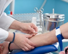 Training to become a phlebotomist